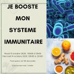 Je booste mon immunité 1