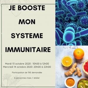 Je booste mon immunité 11
