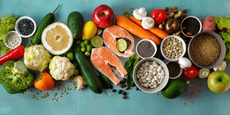 tous les bienfaits d'une alimentation riche et variée
